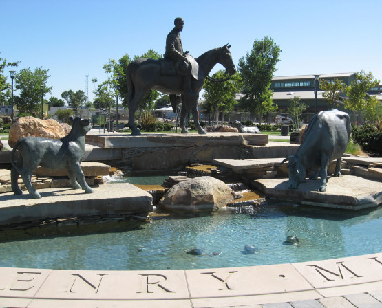 Henry Miller Plaza & Fountain