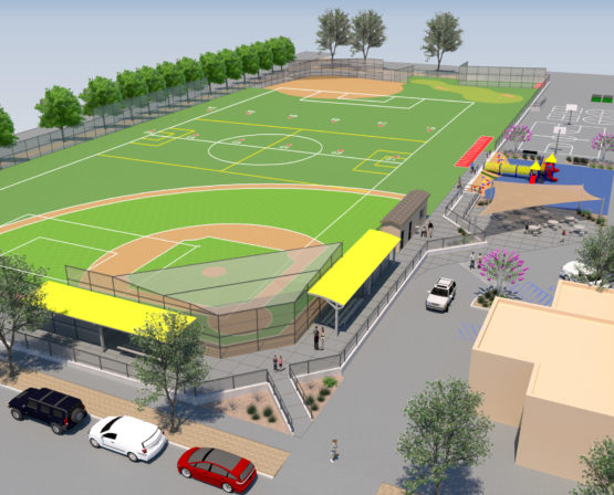 Miracle League Inclusive Facility